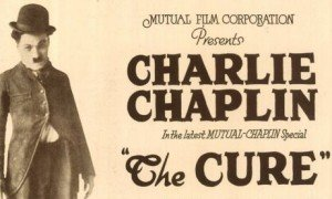 """Charlie Chaplin in """"The Cure"""""""